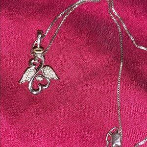 Jewelry - Jane Seymour open heart necklace